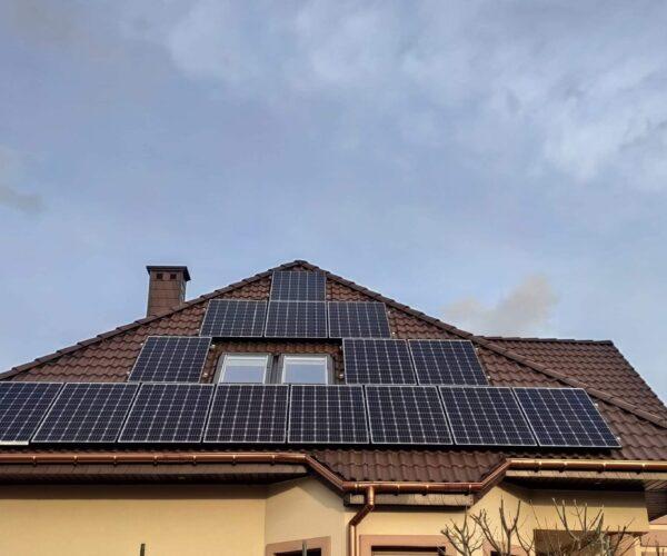 4,96 kWp w Ślesin