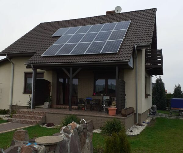 Instalacja Łochowo 4,96 kWp