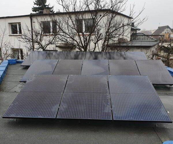 Instalacja o mocy 4,4 kWp w Starym Mieście